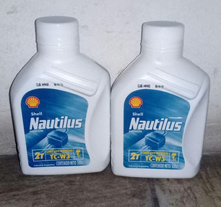 Shell Nautilus 2t Tc-w3 500cc. Oferta 2x1 Outboard