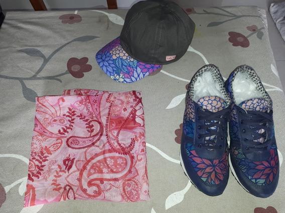 Zapatillas Lluvia Impermeables Seco + Pañuelo Cuello + Gorra