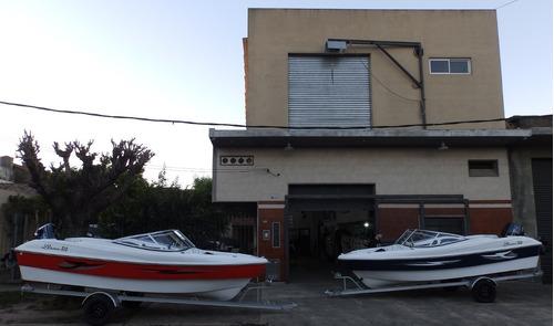 Imagen 1 de 15 de Lancha Open 3v Bianca 510 Stock Permanente Nautica Milione 2