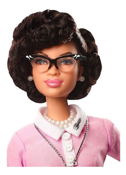 Barbie Collector Katherine Johnson Inspiring Women Negra