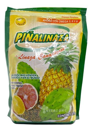 Imagen 1 de 2 de Fibra Piñalinaza (linaza Canadiense) En Polvo Sabor Piña 470