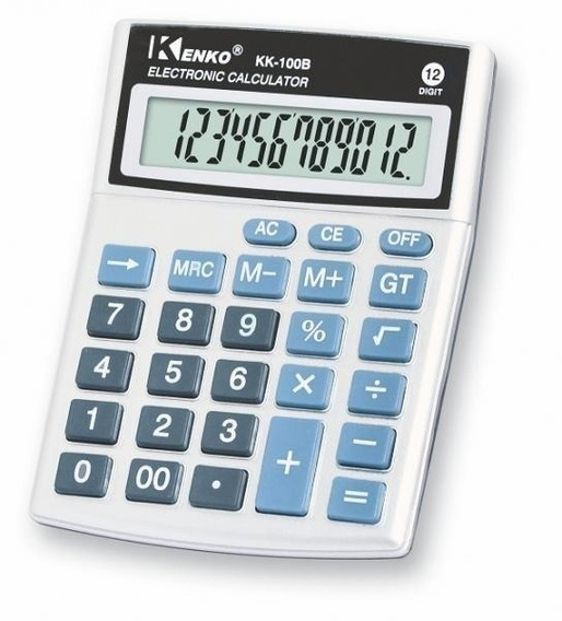Calculadora De Mesa Kenko Kk-100b