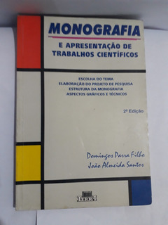 Monografia - E Apresentação De Trabalhos Científicos
