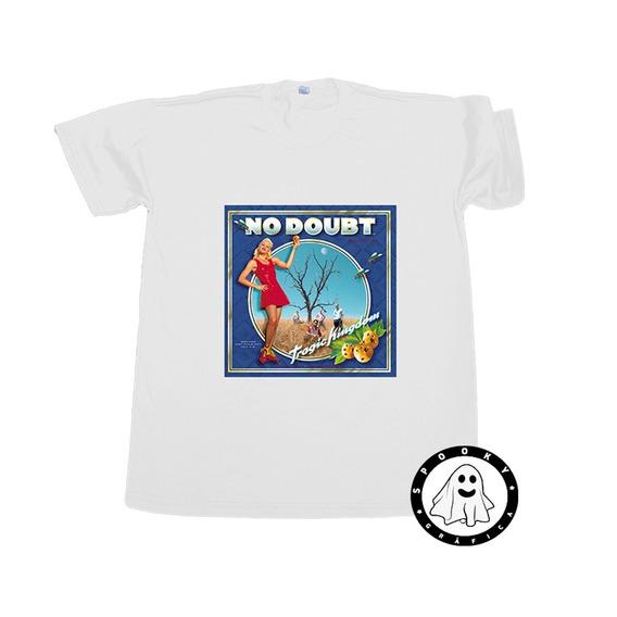 Remera No Doubt Tragic Kingdom Arte Album Ska Punk Pop 90s