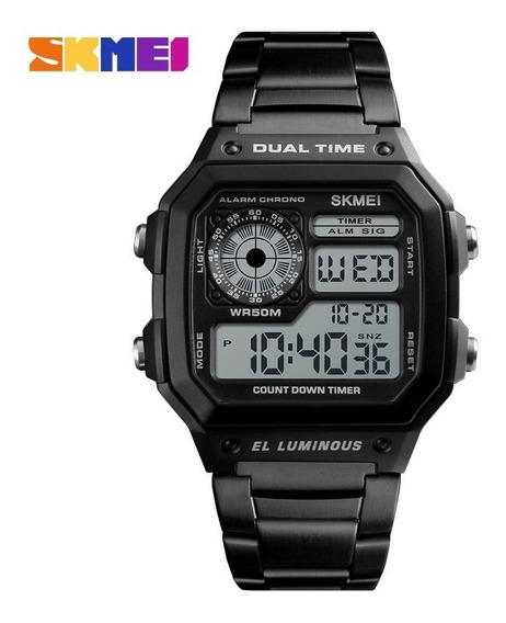 Relógio Skmei 1335 Esportivo Digital Masculino + Brinde