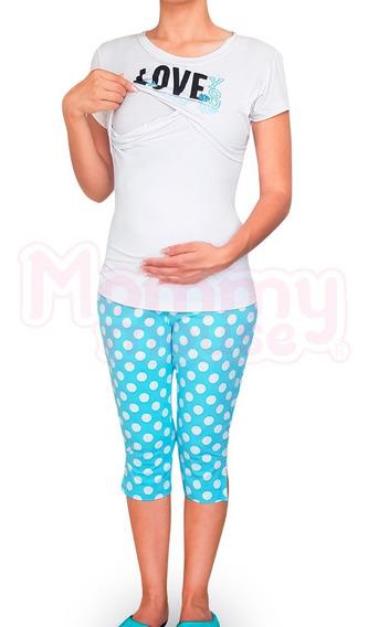 Pijamas Maternidad-lactancia Capri.