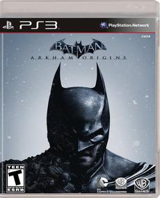 Batman Arkham Origins - Mídia Física / Ps3