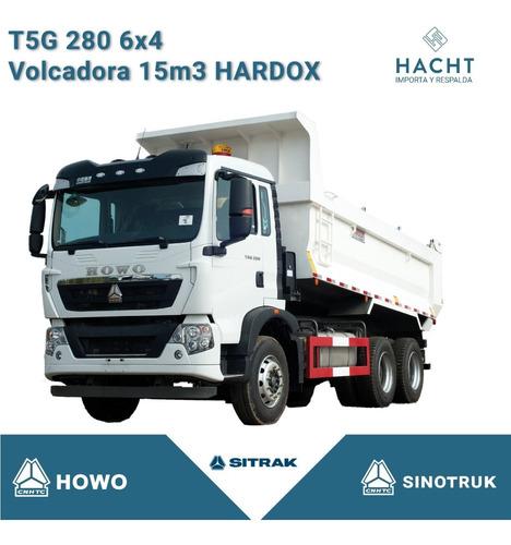 Sinotruk T5g 280 6x4 Volcadora 15 M3