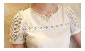Blusa Feminina T-shirts Camisa Branca