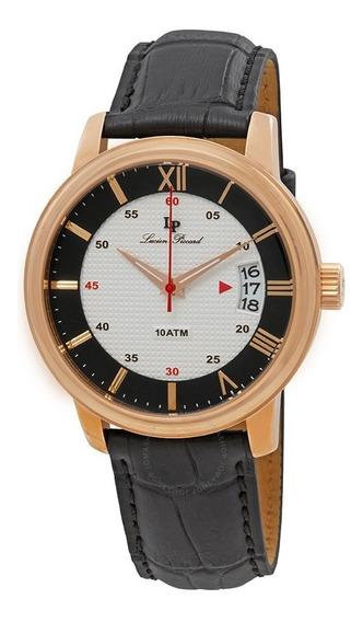 Relógio Lucien Piccard 40019 - Dourado E Preto - 45mm