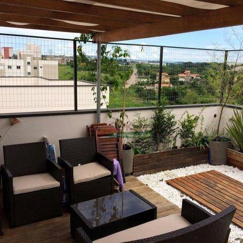 Imagem 1 de 21 de Cobertura Com 3 Dormitórios À Venda, 200 M² Por R$ 340.000,00 - Residencial Portal Da Mantiqueira - Taubaté/sp - Co0041