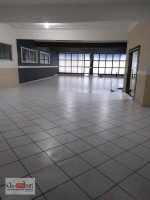 Salão Para Alugar, 300 M² Por R$ 5.000/mês - Itaquera - São Paulo/sp - Sl0032