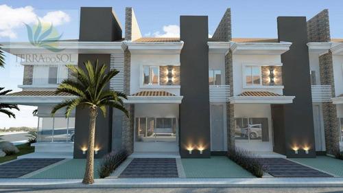 Lançamento Casas Duplex No Park Ávila Condominium - Ca1029