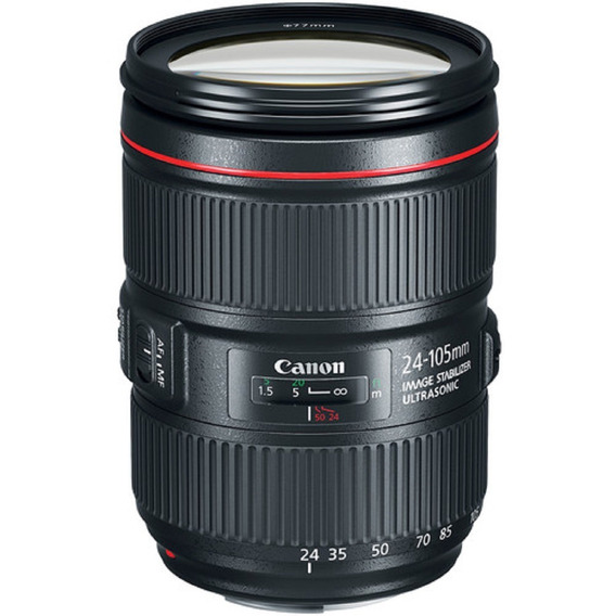 Lente Canon Ef 24-105mm F/4l Is Ii Usm Garantia Sem Juros