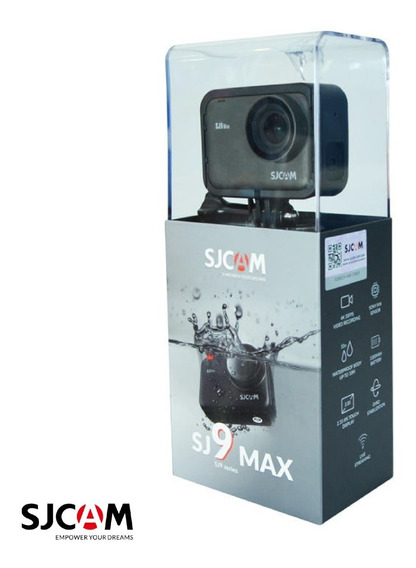 Imperdivel! Kit Sjcam 9 Max Lancamento 2020