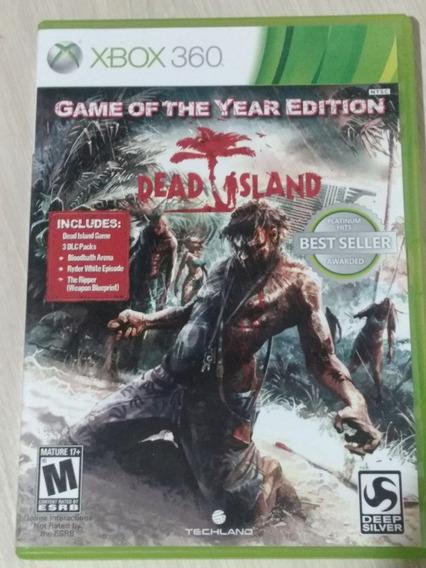 Dead Island Para Xbox 360 Original Best Seller