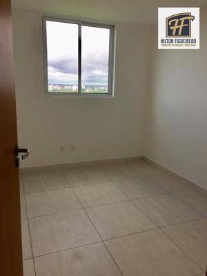 Apartamento Com 2 Dormitórios Para Alugar, 55 M² Por R$ 1.500/mês - Castelo Branco - João Pessoa/pb - Ap5560