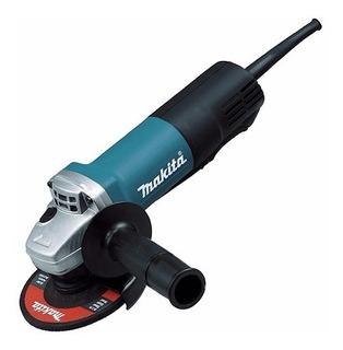 9557hpg Miniesmeriladora 4 1/2 840 W. Switch Paleta Makita