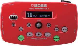 Procesador Vocal Boss Compacto Ve-5 Performer