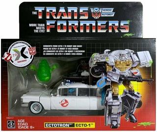 Transformers Ghostbusters Ectotron Ecto-1