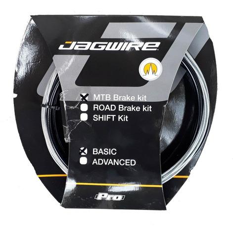 Kit Cables Freno Y Funda De Freno Jagwire Basic Bici Mtb