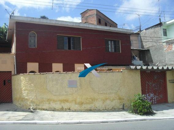 Sobrado Com 2 Dormitórios À Venda, 160 M² Por R$ 395.000,00 - Jardim Do Mirante - Ribeirão Pires/sp - So0024