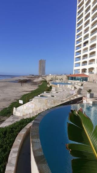 Departamento Frente Al Mar En Mar Y Sol Tower - Rosarito - M