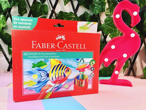 Imagen 1 de 10 de 60 Lápices Acuarelables Faber Castell Gratis Pincel
