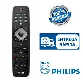 Kit Contendo 5 Controles Remoto Originais Para Tv Philips