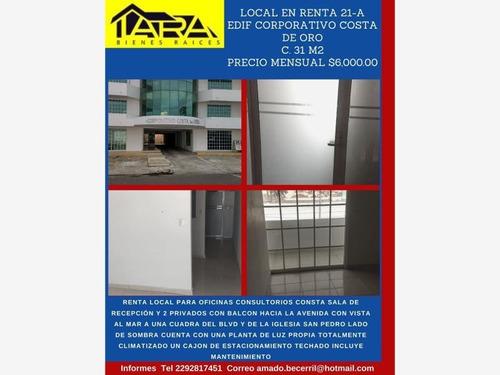 Imagen 1 de 7 de Local Comercial En Renta Costa De Oro