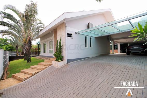 Acrc Imóveis - Casa À Venda Com 03 Suítes, Amplo Terreno E Área De Festas Com Piscina - Ca00876 - 33615831