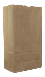 Saco Kraft Embalagem Pequeno P/ Delivery Hambúrguer 500und