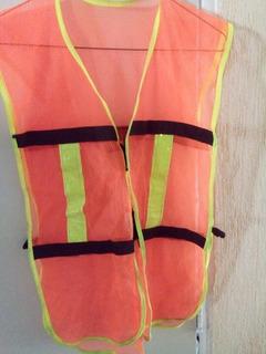 Chaleco De Seguridad Unitalla Color Naranja, T Unitalla