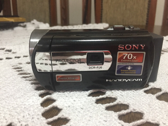 Filmadora Sony Handycam Dcr - Pj 6