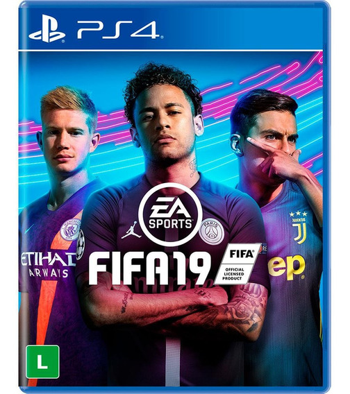 Game Fifa 19 - Playstation 4 Com Conteúdo Bônus - Lacrado
