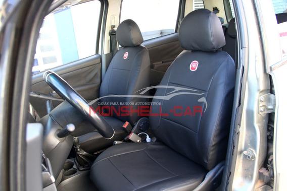 Capas De Bancos Automotivos Carro Couro Sob Medida Fiat Idea