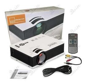 Mini Projetor Portatil Led 130pol 800lumens Uc40 Hdmi Av Usb