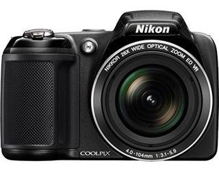 Nikon Coolpix L320 161mp Camara Digital Con Zoom Optico De 2