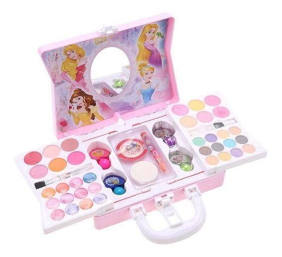 Disney Princess Cosmetics Play Set Para Niñas Kit De Maquill