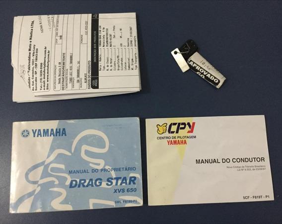 Yamaha Xvs 650 Drag Star 2007 Manual Do Proprietário