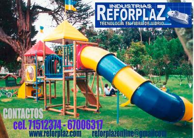 Parques Infantiles Y Toboganes. Industria Reforplaz Srl