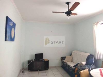 Apartamento Com 01 Dormitório Para Alugar Há Duas Quadras Da Praia, Perto Da Costa E Silva, 45 M² Por R$ 1.200/mês - Ap6451