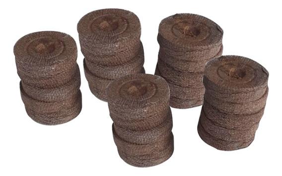 Célula De Germinação E Clonagem Jiffy - 2,5x3,5cm (50und)