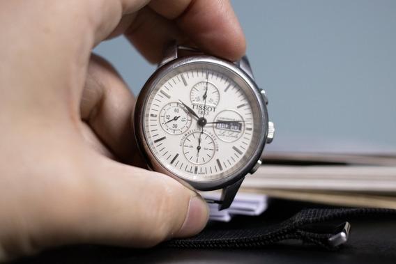 Relógio Tissot Le Locle Automático Cronógrafo Clássico