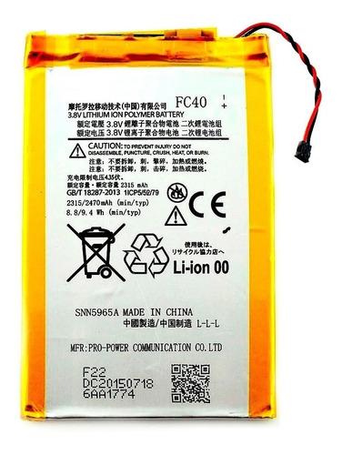 Batería Para Motorola Moto G3 Fc40 100% Garantizada