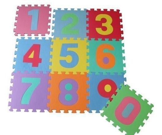 Alfombra De Foami Eva Puzzle Para Bebes Niños