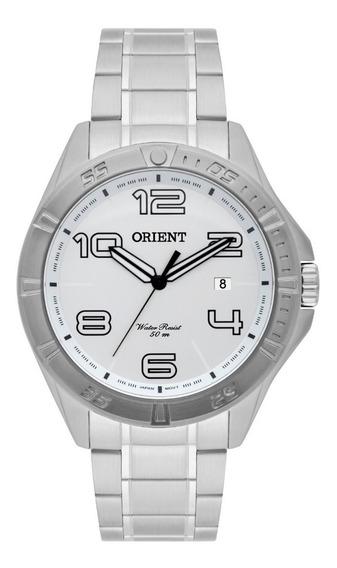 Relógio Orient Analógico Original Sport Prata Mbss1274
