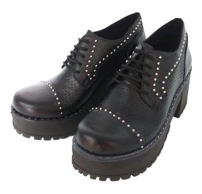 Zapato Plataforma Zapatos Mujer Savage 2019 Taco Mb-120