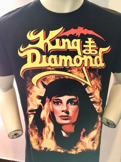 King Diamond Fatal Portrait T-shirt Merch Official Import