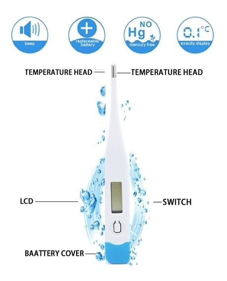 Termometro Digital Medidor De Temperatura Corporal Oferta